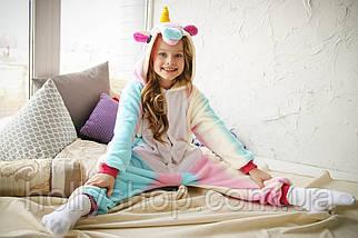 Детская Пижама кигуруми Единорог радужный, фото 3