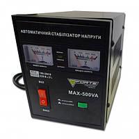 Стабилизатор напряжения FORTE МАХ-500VA NEW (релейный)
