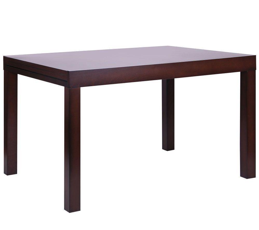 Стол обеденный раздвижной Стоун 1200(2400)*900*755 орех темный, TM AMF