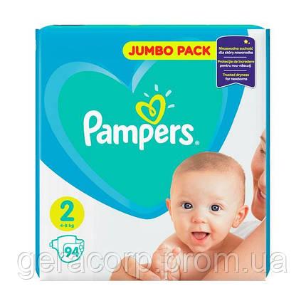 Подгузники Pampers Active baby 2/94 шт, фото 2