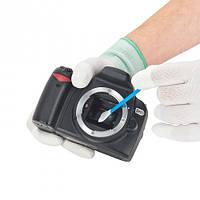 Швабры с пропиткой 6шт. для очистки CCD, CMOS матриц сенсоров камер