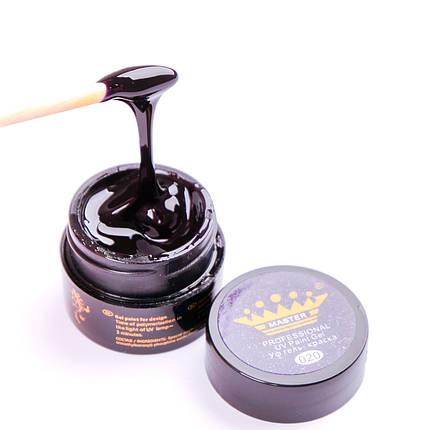 Гель краска Master Professional 5 ml №020 Темно-синий, фото 2