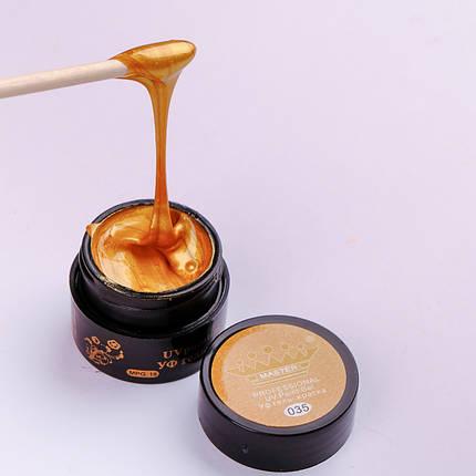 Гель краска Master Professional 5 ml №035 Золото с шиммерами, фото 2