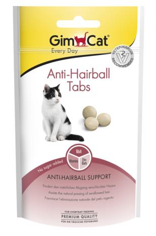 Таблетки для кошек для выведения шерсти GimCat Anti-Hairball Tabs 40 г