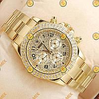 Rolex Daytona Women Crystal Gold