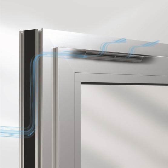 Вентилятор фальца окна Schüco VentoAir