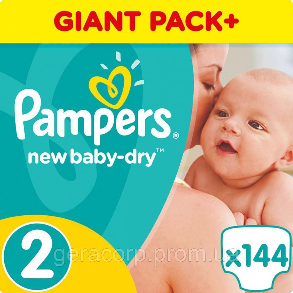Подгузники Pampers Active baby 2/144 шт