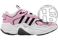 Женские кроссовки Adidas Magmur Runner White Pink/White EE8629