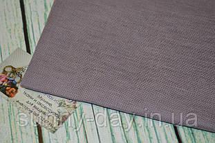 Тканина рівномірного плетіння Permin 076/380 Лавандовий, 28 каунт