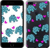 """Чехол на iPhone 8 Plus Слоники """"4541c-1032-25032"""""""