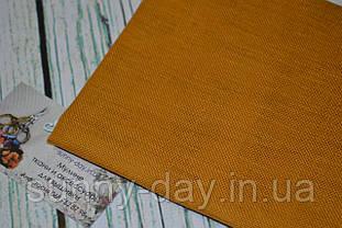 Ткань равномерного плетения Permin 076/381 Тосканское солнце, 28 каунт