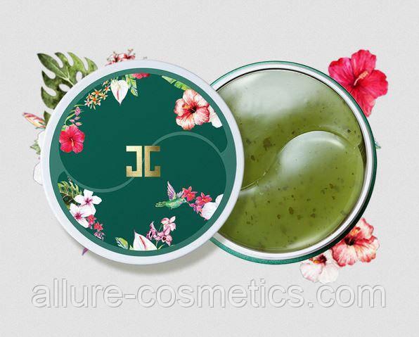 Гидрогелевые патчи для глаз с зеленым чаем JAYJUN Green Tea Eye Gel Patch