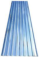 Профнастил ПС-20 0,45 мм, оцинкованный 3-х метровый 3,48 м.кв/лист