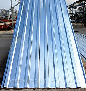 Профнастил ПС-12 0,45 мм, НЕКОНДИЦИЯ оцинкованный 3-х метровый 2.85 м/кв,, фото 2
