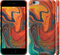 "Чехол на iPhone 6 Абстрактный фон ""4547c-45-25032"""