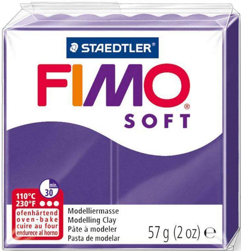 Пластика Soft, Сливовая, 57 г, Fimo