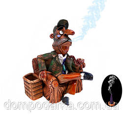 "Аромалампа (аромафигурка) ""Сыщик с трубкой"" (Шерлок), 17 см"