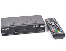 Romsat Т2050 - цифровой Т2 приёмник, сертифицирован