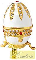 Шкатулка ювелирная Яйцо фаберже 208
