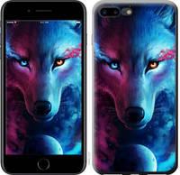 "Чехол на iPhone 8 Plus Арт-волк ""3999c-1032-25032"""