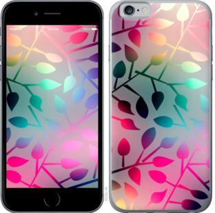 """Чехол на iPhone 6 Листья """"2235c-45-25032"""""""