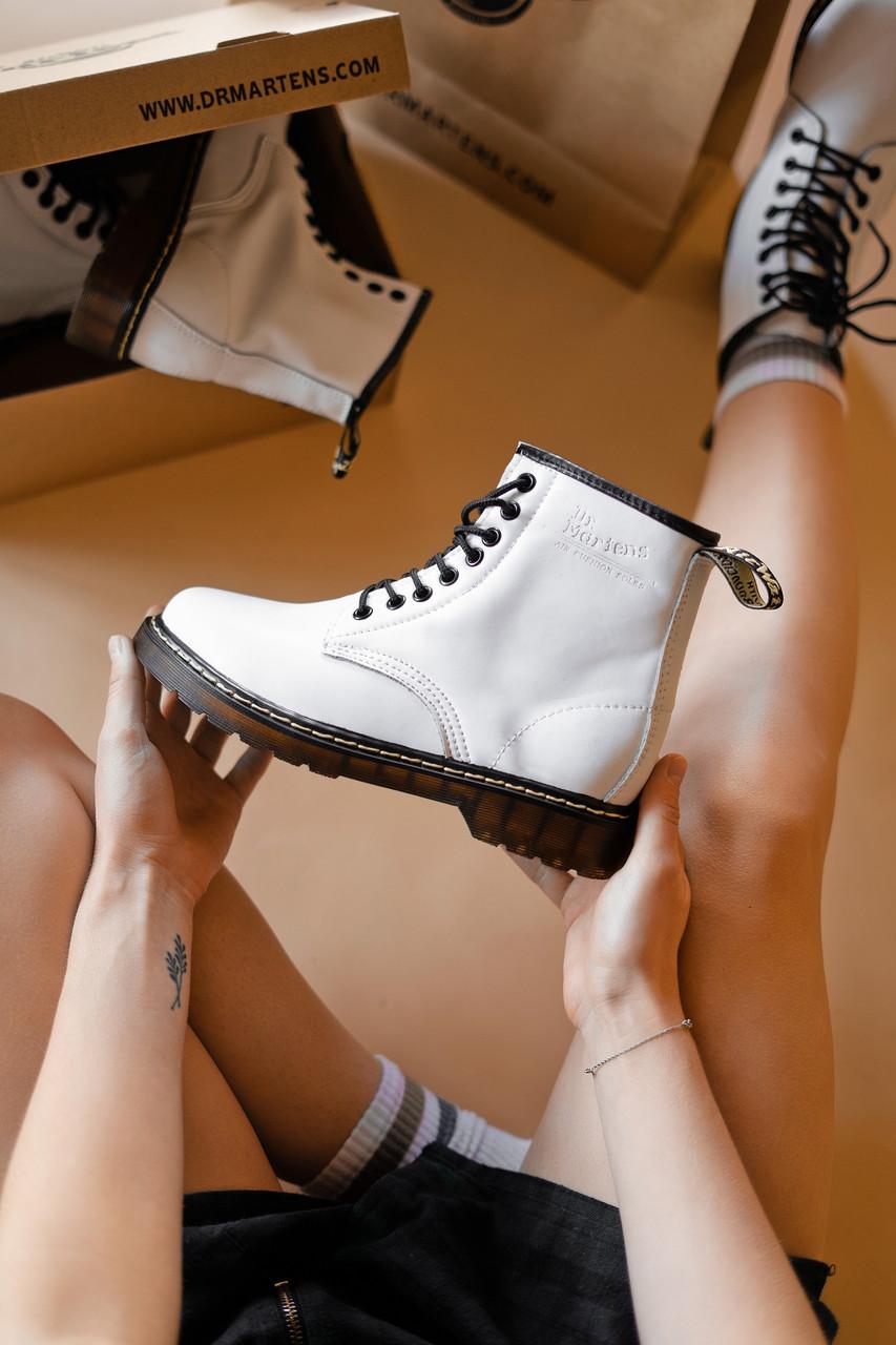 Зимние кожанные ботинки Мартинс DR. Martens (НА МЕХУ)