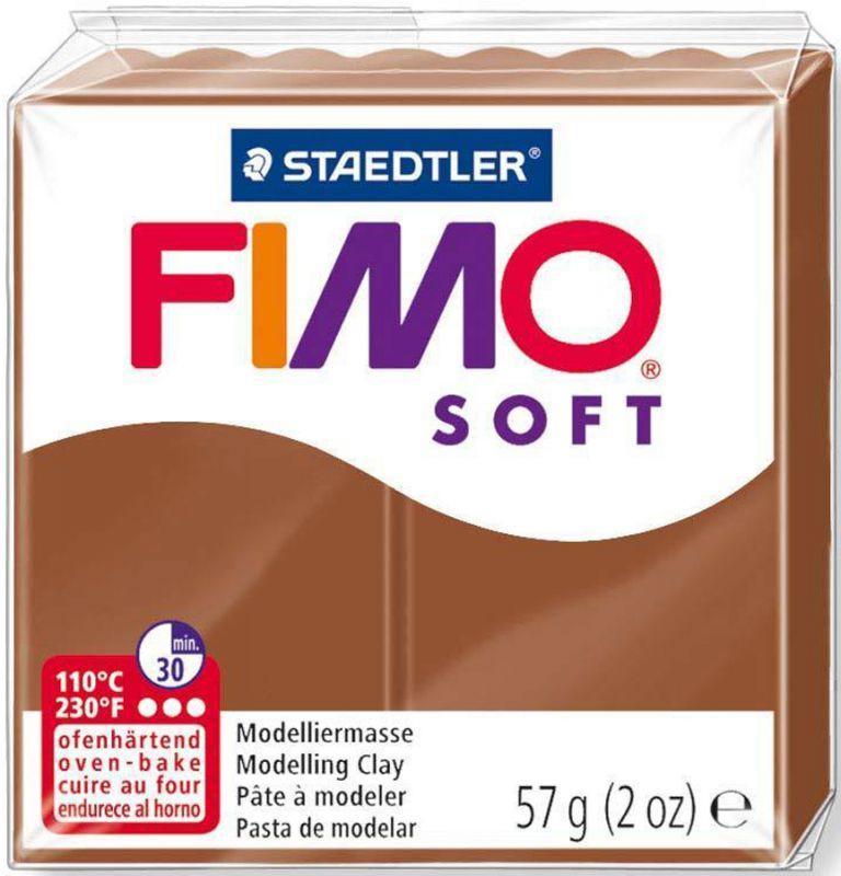 Пластика Soft, Карамель, 57 г, Fimo