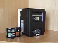 Частотный регулятор HITACHI NES1-007SBE, 0.75кВт, 4A, 220В. Вольт-частотный (скалярный).