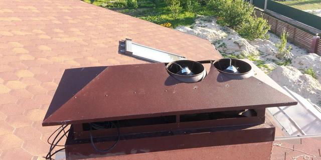 Гибридные вентиляторы для кирпичных вентиляционных шахт.