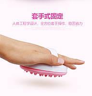 Мягкая силиконовая щетка Меридиан массаж рук ног всего тела, фото 1