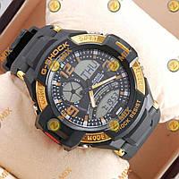 Часы наручные Casio GA-1000 Black/Gold Касио, Опт, Дропшиппинг.