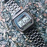 Наручные Электронные Часы Casio Retro Черные
