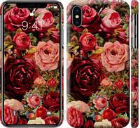 """Чехол на iPhone X Цветущие розы """"2701c-1050-25032"""""""