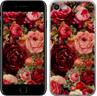"""Чехол на iPhone 8 Цветущие розы """"2701c-1031-25032"""""""