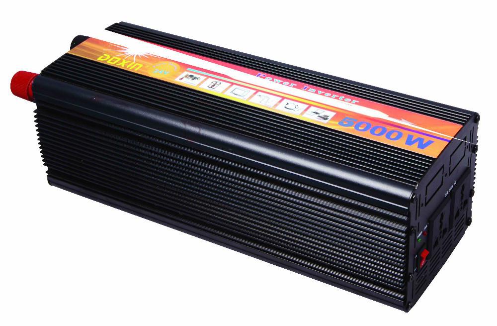 Автомобильный преобразователь напряжения 12V-220V 5000W авто инвертор