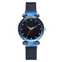 Часы Starry Sky Watch женские на магнитной застёжке, синие SKL11-189660