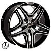 Zorat Wheels BK206(5925) R20 W9 PCD5x112 ET48 DIA66.6 BP