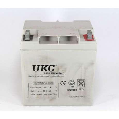 Многофункциональная гелевая аккумуляторная батарея UKC BATTERY 12 V 26 A