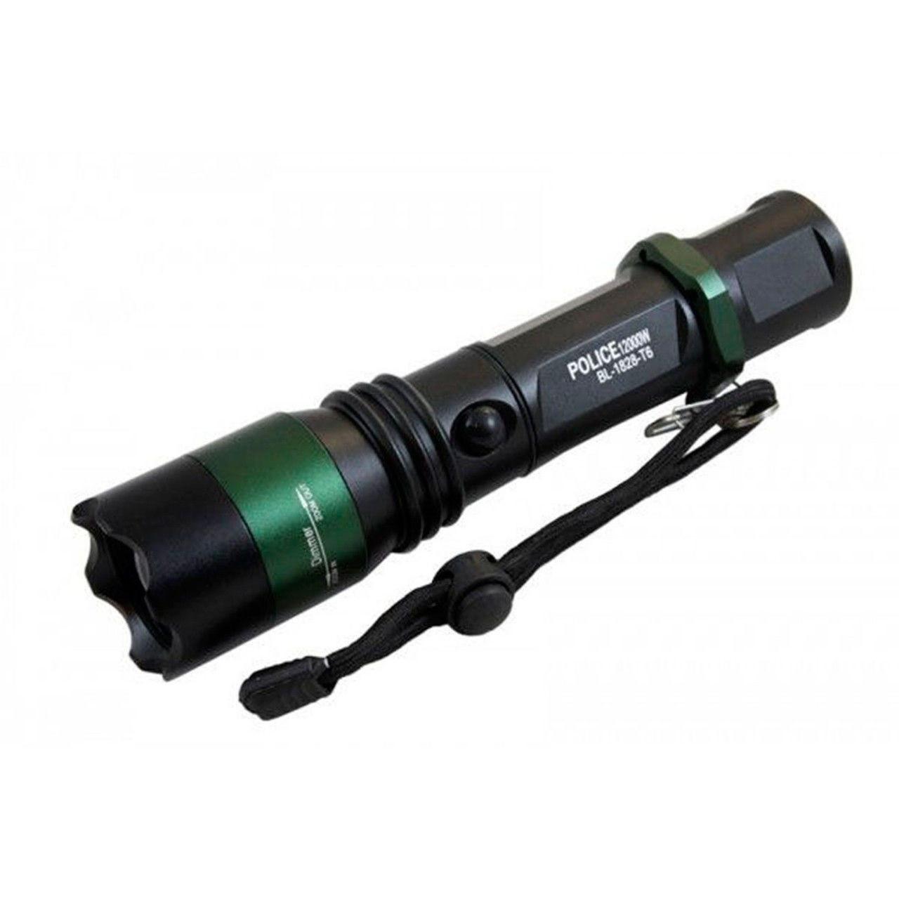 Тактический фонарик Police BL-1828-T6 50000W