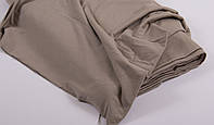 Ткань трикотаж, х/б с эластаном,  натуральная. Ширина 140 см.