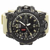 Мужские часы Smael 1545 Black-White (3095-8701), фото 2