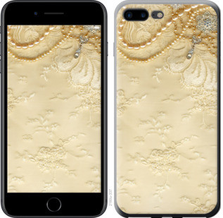 "Чехол на iPhone 8 Plus Кружевной орнамент ""2160c-1032-25032"""
