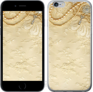 "Чехол на iPhone 6 Plus Кружевной орнамент ""2160c-48-25032"""