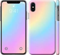 """Чехол на iPhone XS Радуга 2 """"2920c-1583-25032"""""""