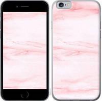 """Чехол на iPhone 6 розовый мрамор """"3860c-45-25032"""""""
