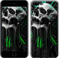 "Чехол на iPhone 7 Plus Череп-часы ""4100c-337-25032"""