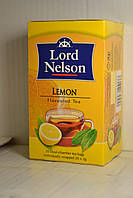 Черный чай со вкусом лимона Lord Nelson 20 пакетов