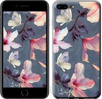 "Чехол на iPhone 8 Plus Нарисованные цветы ""2714c-1032-25032"""