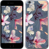 "Чехол на iPhone 6s Plus Нарисованные цветы ""2714c-91-25032"""