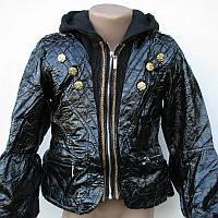 Куртка подростковая черная